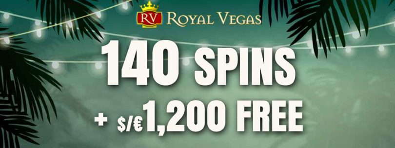 royal vegas free spins
