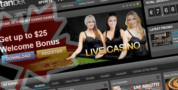 titan casino canada