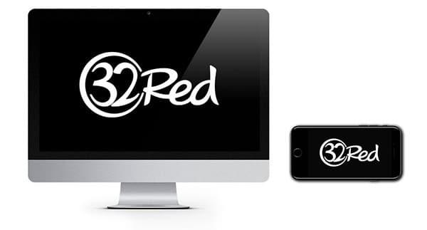 32 Logo Kasino Merah