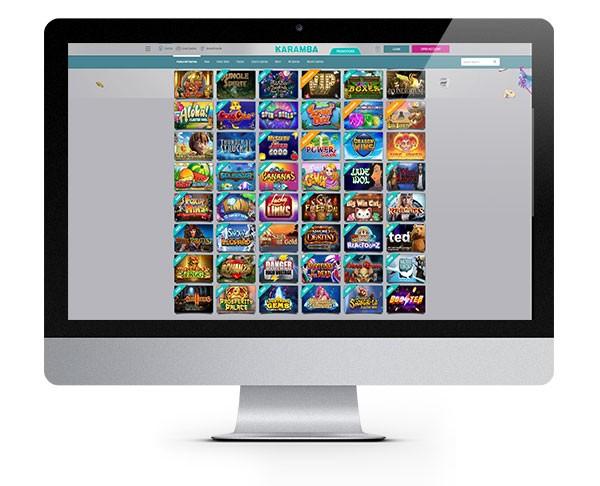 Karamba Casino desktop
