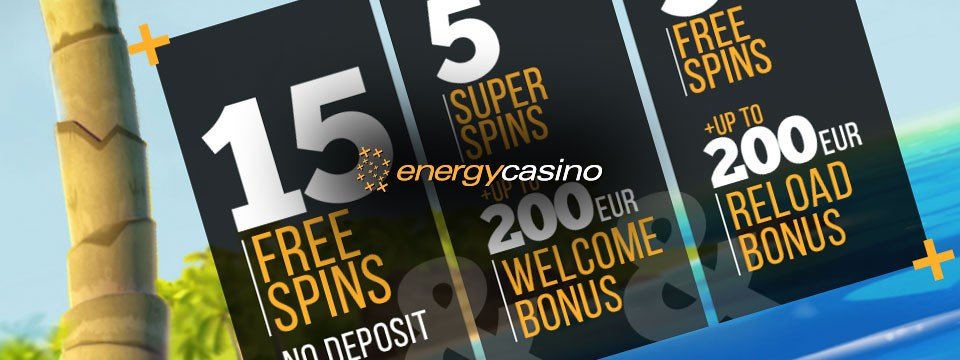 energy casino 15 free spins