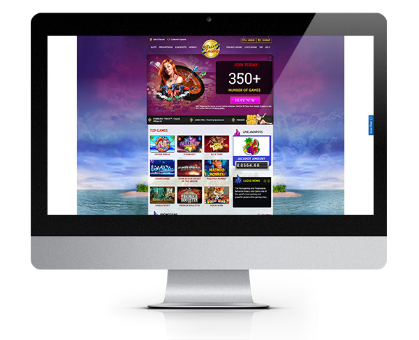 Lucks Casino 100% Welcome Bonus