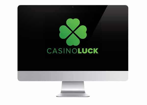 Casino Luck logo on screen
