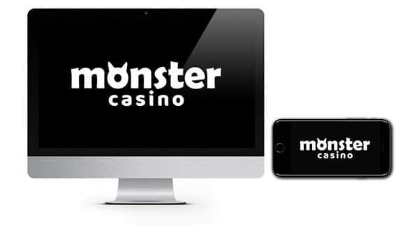 NEW LOOK Monster Casino Welcome Bonus Spins