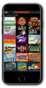 Maxiplay Casino mobile