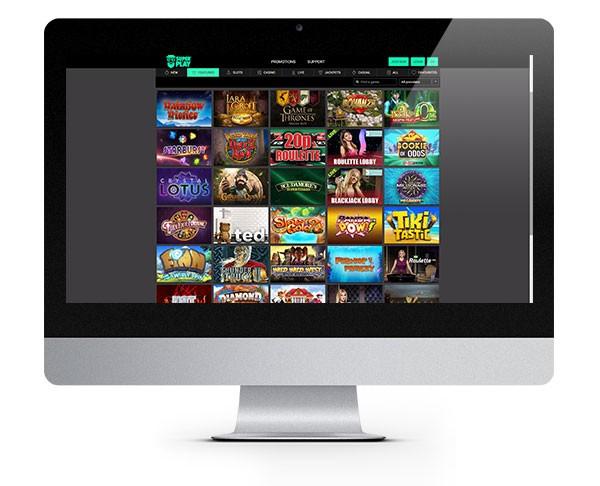 Mr Superplay casino desktop