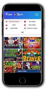 FreeSpin Casino Match Bonus new