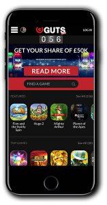 Bonus Gratis Spins Guts Casino Tanpa Deposit
