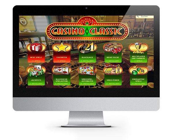 Casino Classic desktop