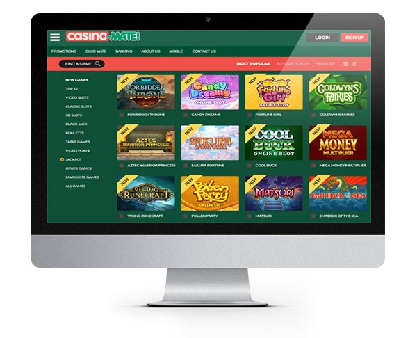 Casino Mate Welcome Bonus Zero-Wager Spins