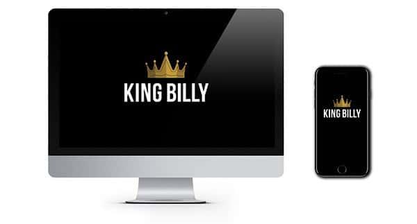 King Billy Casino New Player Welcome Bonus