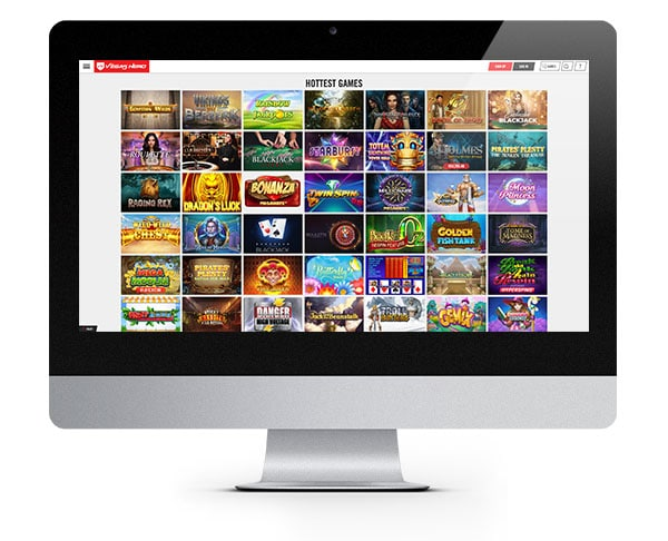 Vegas Hero Casino desktop