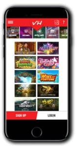 Vegas Hero Casino mobile