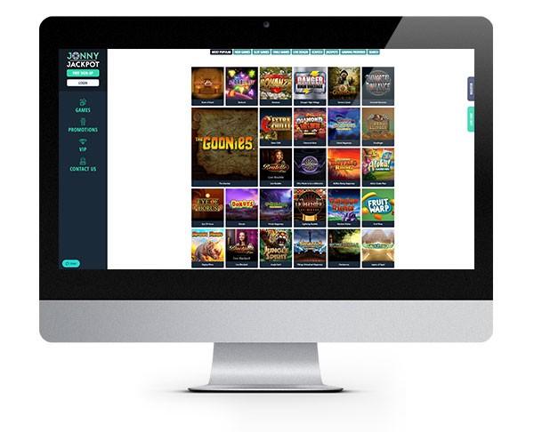 Jonny Jackpot Casino desktop