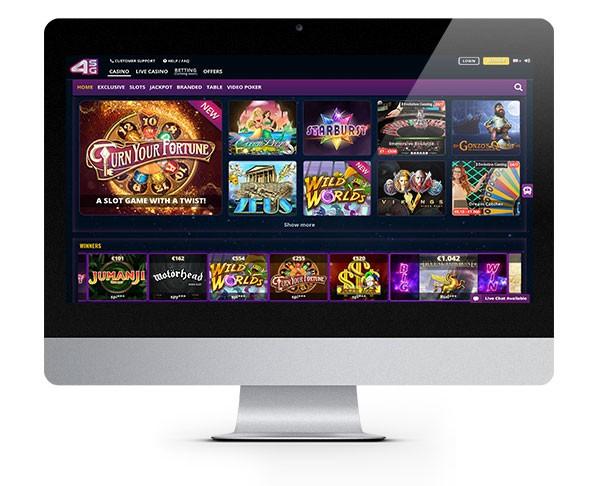 4StarsGames desktop casino