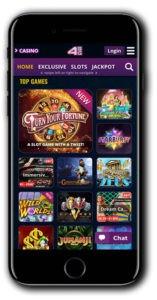 4StarsGames mobile casino