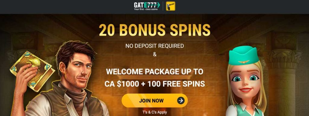 gate777 bonus offer