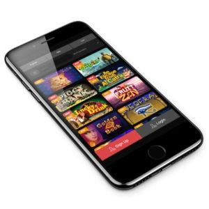 CasinoChan mobile lobby