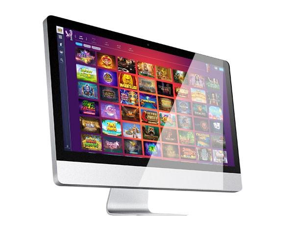 New Casino Gods desktop lobby