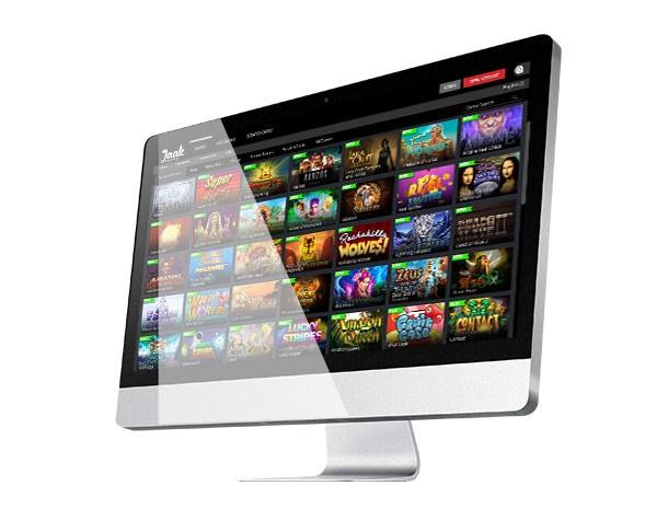 Lobi desktop Kasino Jaak