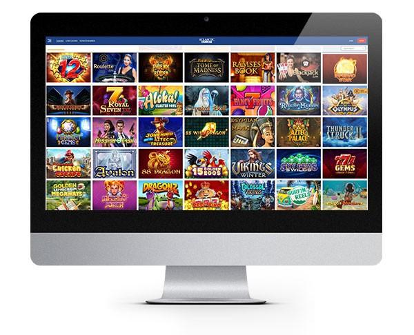 PlayFrank desktop lobby