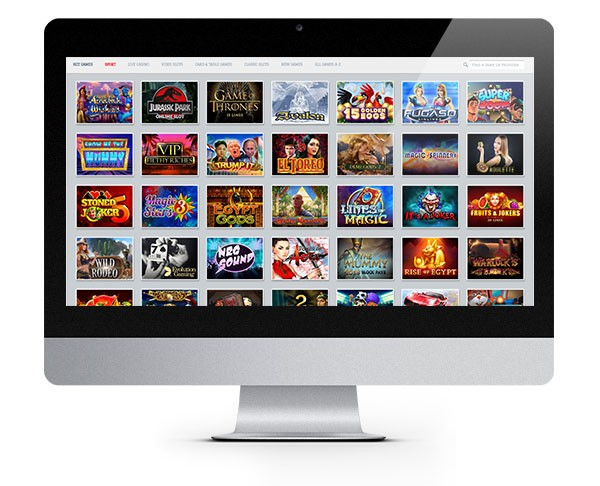 White Lion Casino desktop