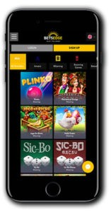 BetsEdge Casino mobile