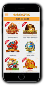 CyberSpins Casino `mobile