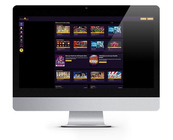 Royal Ace Casino desktop