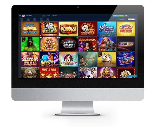 Desktop Kasino WebbySlot