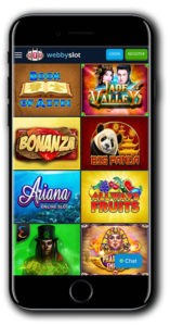 WebbySlot Casino mobile