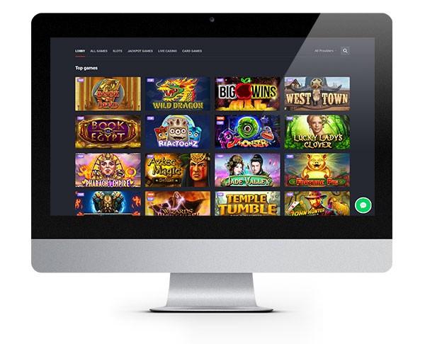 Joo Casino Desktop Lobby