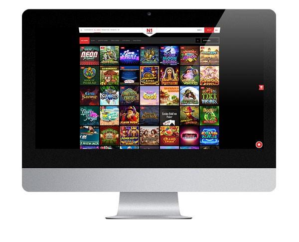 N1 Casino Desktop