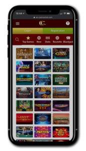Casino Club mobile play