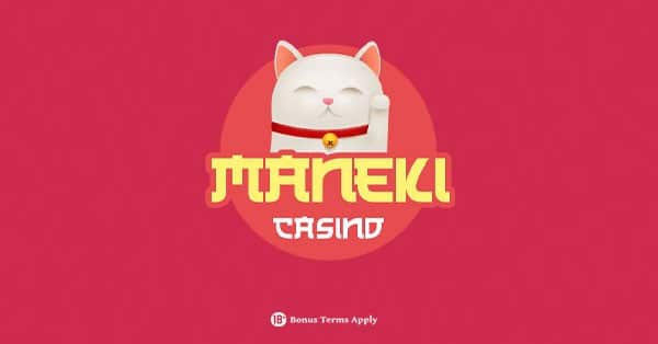 Maneki Casino logo banner