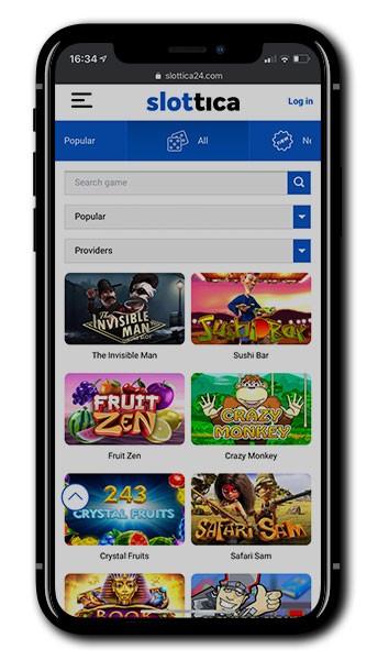 Slottica Casino Mobile Play