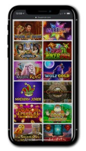 SuperCat Casino Mobile Gaming