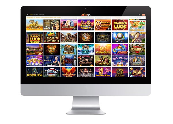 Wild Slots Casino desktop screenshot