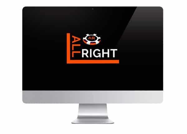 All Right Casino logo on screen