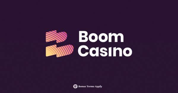 Boom Casino logo banner