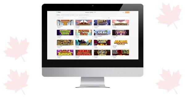 Flipperflip Casino Desktop Screenshot