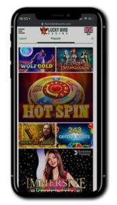 Lucky Bird Casino mobile