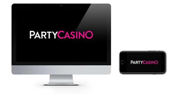 Party Casino logos