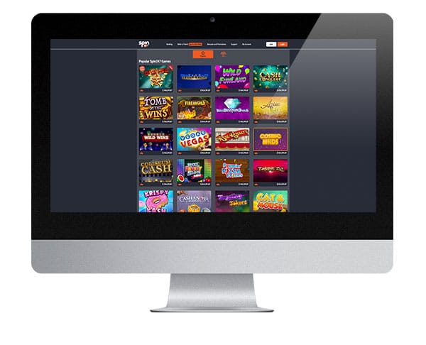 Spin247 Casino screenshot
