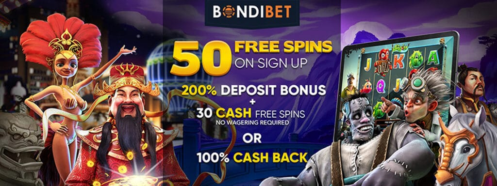 bondibet 50 freespins