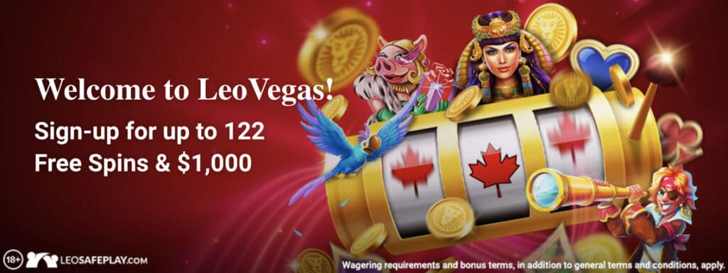 leo vegas Canada spins