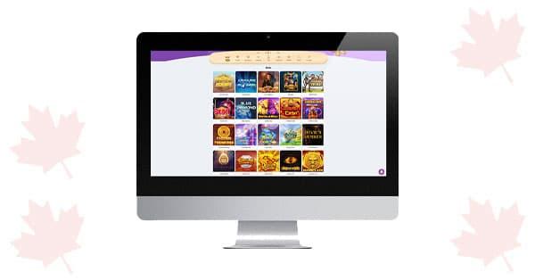 NEW Cookie Casino Desktop