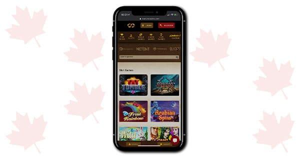 Everum Casino Mobile