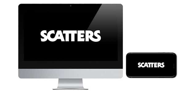 Scatters Casino logo on screen