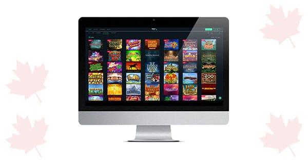 Volt Casino desktop
